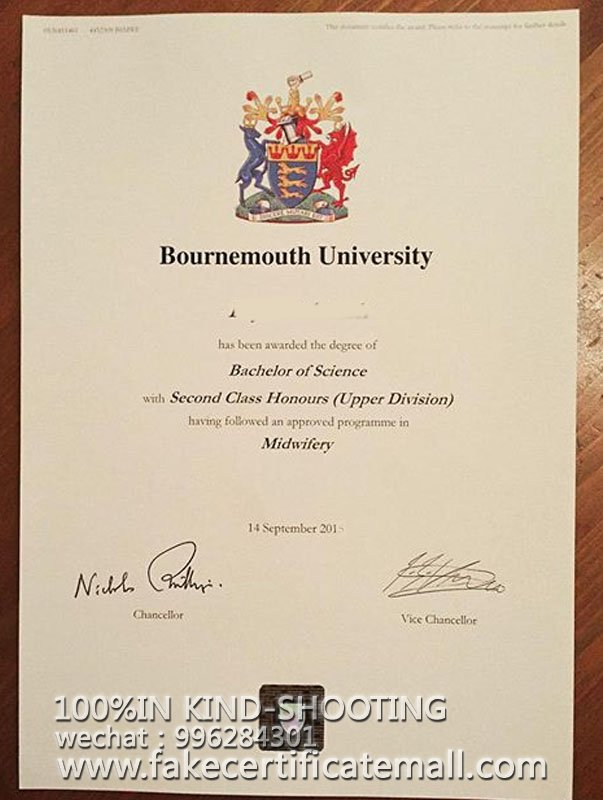 buy bournemouth university fake degree certificate