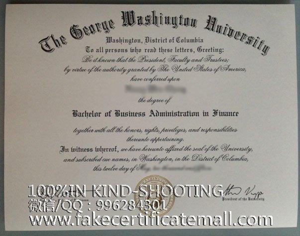 washington university george diploma usa degree fakecertificatemall college