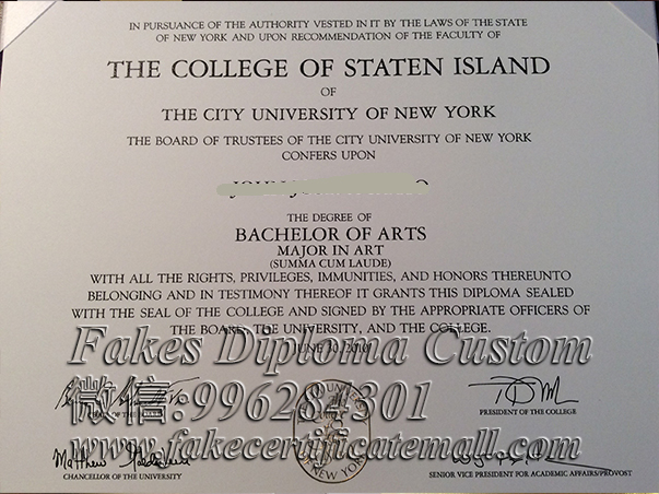 buy College of staten island diploma and degree-Buy diploma