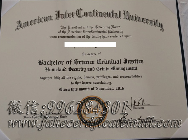 american university diploma degree intercontinental certificate fake transcript